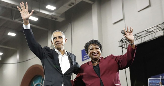 Stacey Abrams calls Kemp Georgia's 'legal' governor, won't say he's legitimate