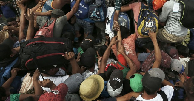 President Trump Threatens to Completely Close the Border With Mexico if Caravan Gets Further Out of Control