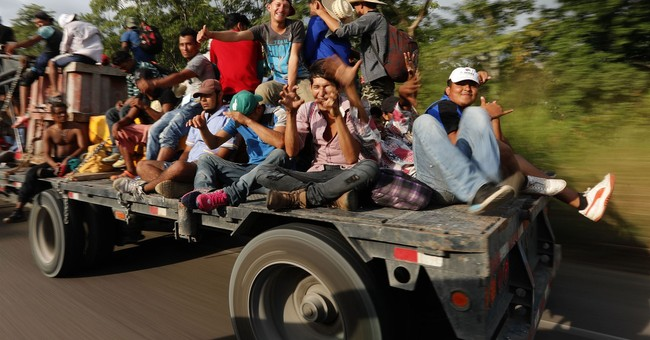 Trump Sees the Migrant Caravan as a Winning Election Issue