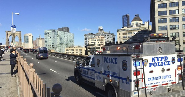 NYPD Officers Attacked on Brooklyn Bridge