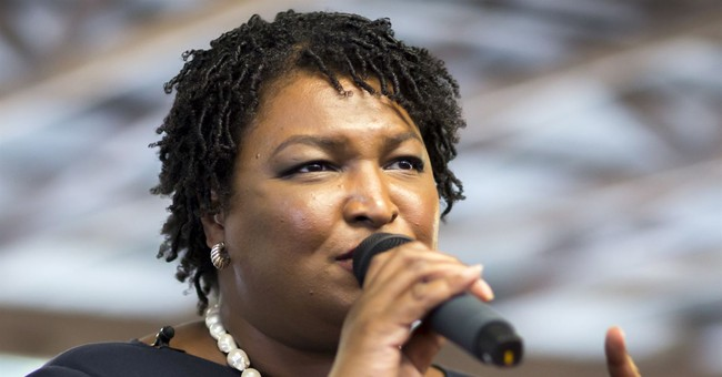 Election Truther Stacey Abrams Makes Bizarre Claim She 'Won'