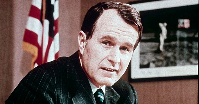 One Final Word for George Herbert Walker Bush
