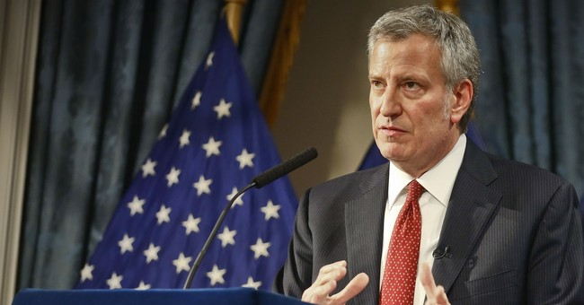NYC Mayor Bill de Blasio Came After Your Guns, Now He's Coming After Your Private Property