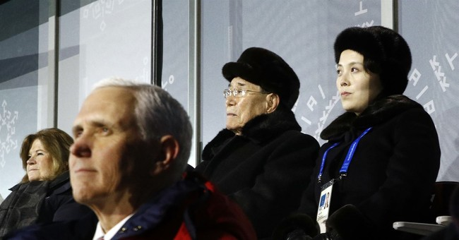 Pence Gives Kim Jong Un's Sister the Cold Shoulder at the Olympics