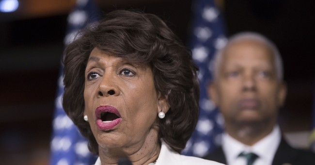 Maxine Waters Claps Back at Trump's 'Low IQ' Comment