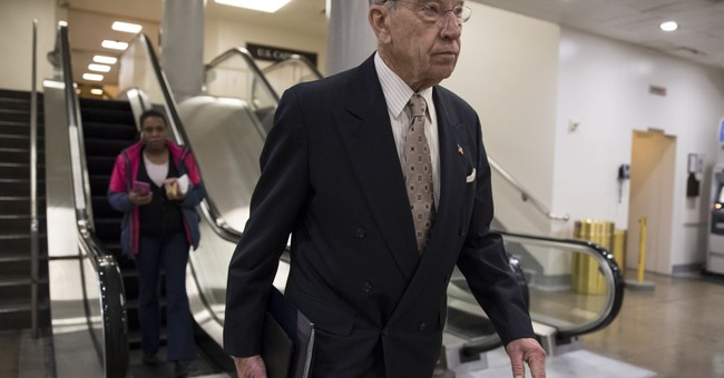 Grassley: Any Supreme Court Justice Wanting to Retire Needs to Do So Now