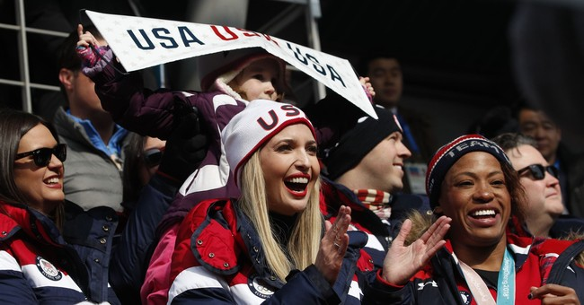 Despite Political Differences, Bobsledder Manages to Have Fun Meeting Ivanka at Olympics