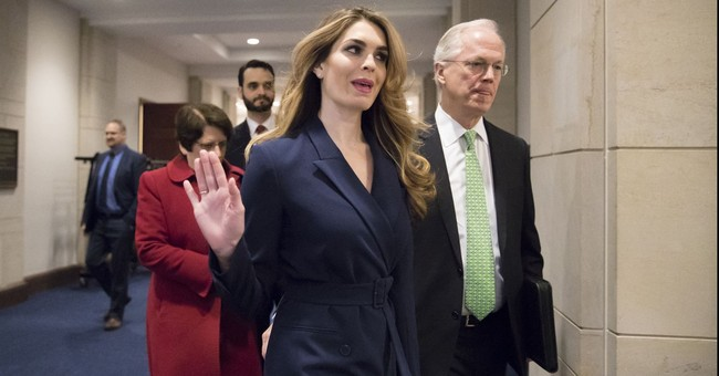 Democrats Hoping Hicks Will Give Them Something, Anything At All To Bring Down Trump In Next Week's Expected Testimony