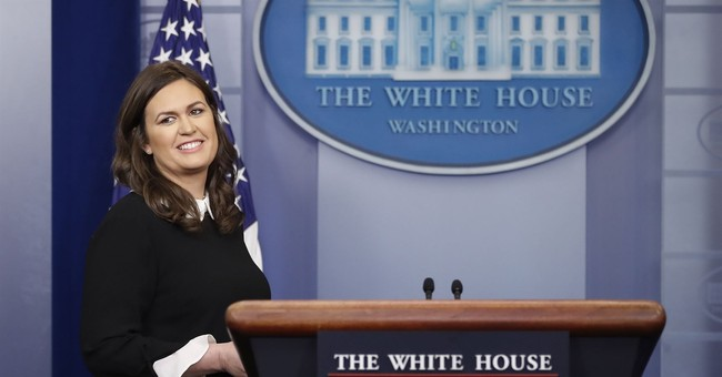 Sarah Huckabee Sanders Has Classy Response to Questions About Michelle Wolf Jokes