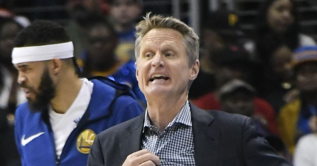 Useful Idiot: NBA Coach Steve Kerr Compares Gun Violence In United States To China's Human Rights Abuses