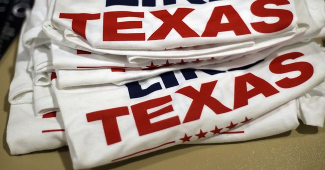Well, The Whole Notion Of Texas Turning Blue Got Shot To Hell Last Night