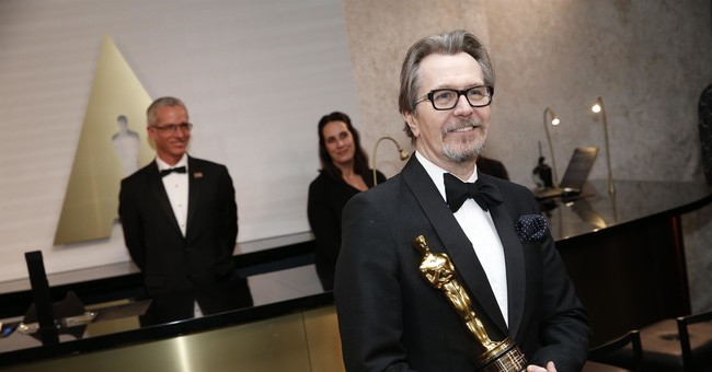 Gary Oldman Was Criticized for Thanking Winston Churchill in His Acceptance Speech
