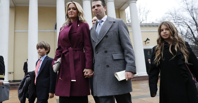 Donald Trump Jr.'s Wife Files for Divorce