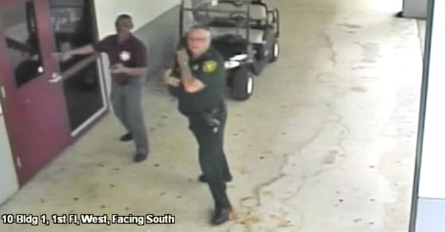 New Video of Police Officer Who Failed to Act During Parkland Shooting Baffles Detective