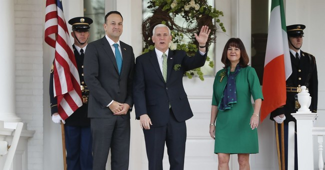 Here's How Vice President Mike Pence Celebrated St. Patrick's Day