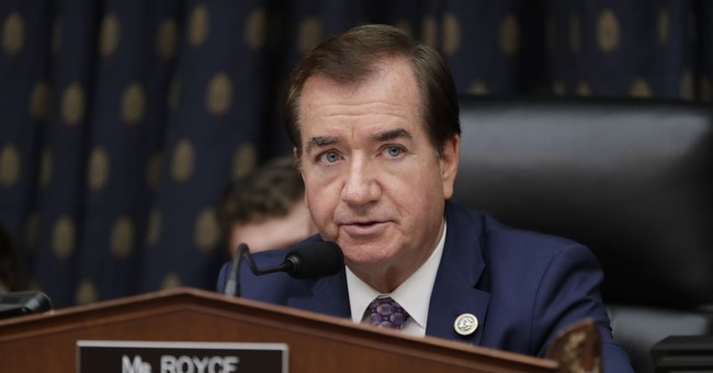 Rep. Ed Royce Won't Run for Re-Election in Competitive California District