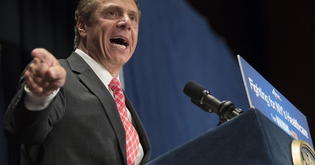 In Lawsuit, NRA Says Gov. Cuomo's 'Coercion' Has Cost Them Millions