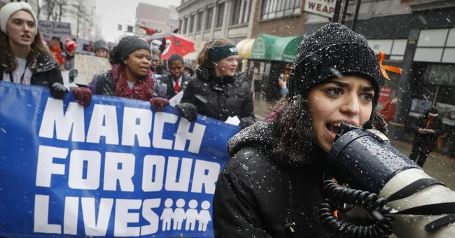 Thousands of student demonstrators protest for gun control laws in United States