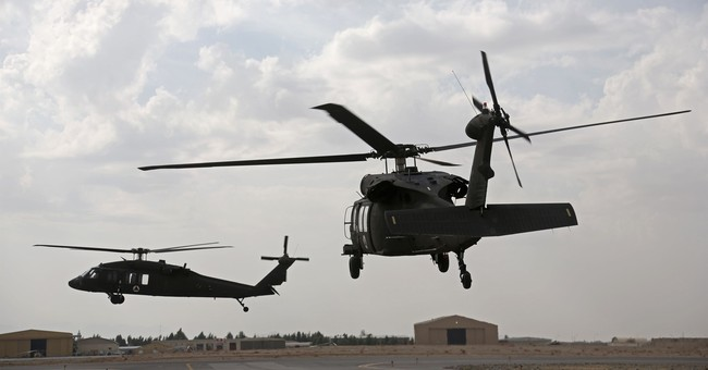 Air Force Helicopter Shot At, Forced To Land