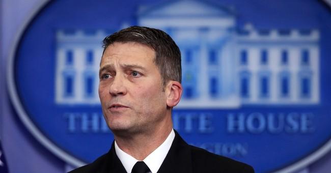 Trump Defends Dr. Ronny Jackson Against 'Vicious' Politicians, But...