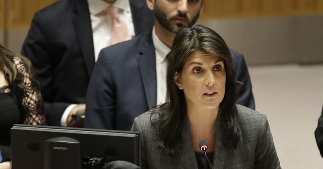 Haley: Trump weighs Syria options six days after alleged chemical attack