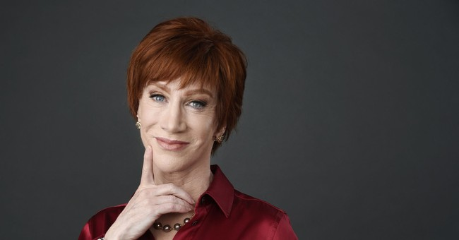 Kathy Griffin's Nasty Obsession With Trump Now Has Her Throwing Shots at a Fellow Comedian