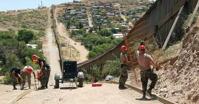 Border Wall Construction Begins in New Mexico