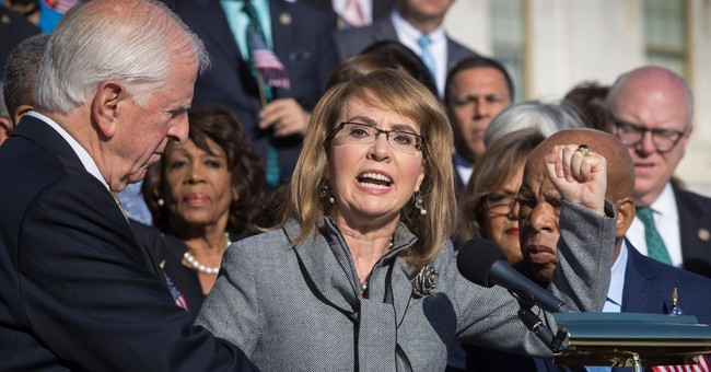 Giffords Group Aims To Flip 10 Pro-Gun Congressional Districts With Statues Depicting 'Gun Violence'