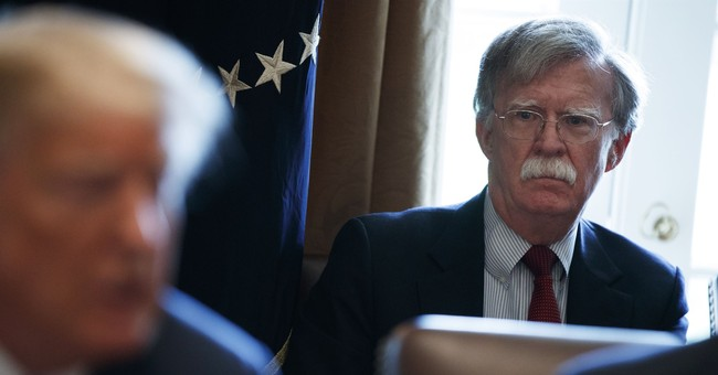 National Security Team Bolting Under Bolton?