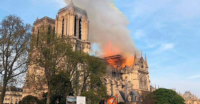 A World Turned Upside Down: The Upshot and Downside to the Destruction of Notre Dame