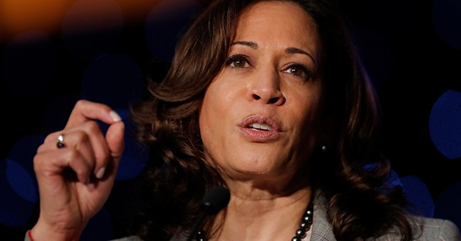 Another Democratic Contender Goes After Biden on Criminal Justice, But She's One to Talk