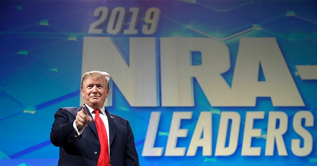 Here Was The Most Important Line From Trump's NRA-ILA Leadership Forum Speech