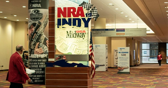 Fired NRA Exec Becomes New Golden Boy For Anti-Gunners