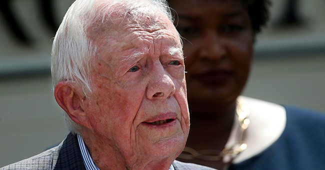 President Jimmy Carter Is Recovering Following Surgery But That's Not What He's Concerned About