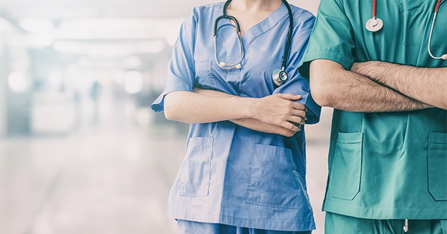 Imagine Being This Person: Doctor Arrested For Hugging And Coughing on Nurses