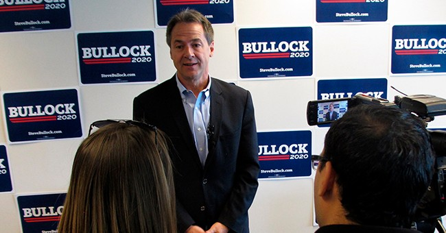 Bullock Pledges to Take No PAC Money After Being Bolstered by Corporate Dollars During Gubernatorial Races