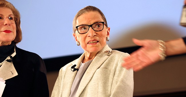 Ginsburg: A Senator Once Said I'd Be Dead in Six Months