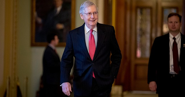 McConnell: Due to Endless Democratic Obstruction, It's Time to Fast-Track Trump Nominees