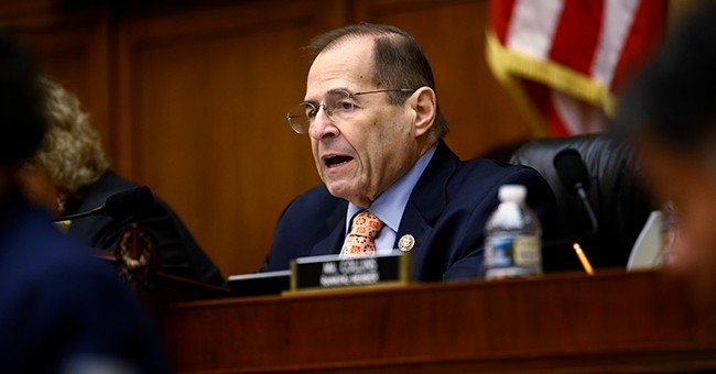 Video Shows Top Democrat Jerrold Nadler Nearly Faint at Press Conference