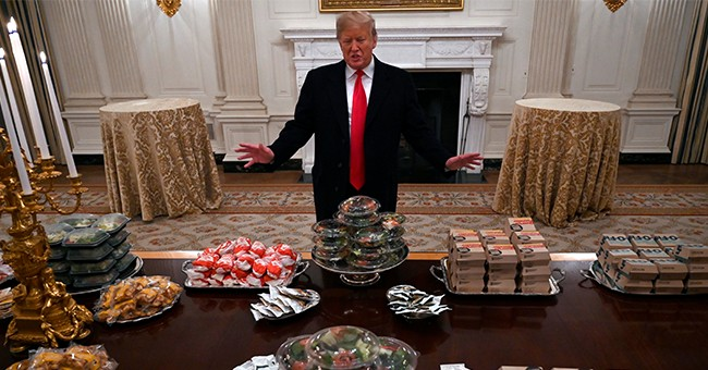 Is This A Joke? Did WaPo Really Fact-Check Trump Over His Fast Food Dinner With The Clemson Football Team?