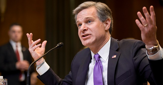 Is FBI Director Christopher Wray in Hot Water Over Russiagate?