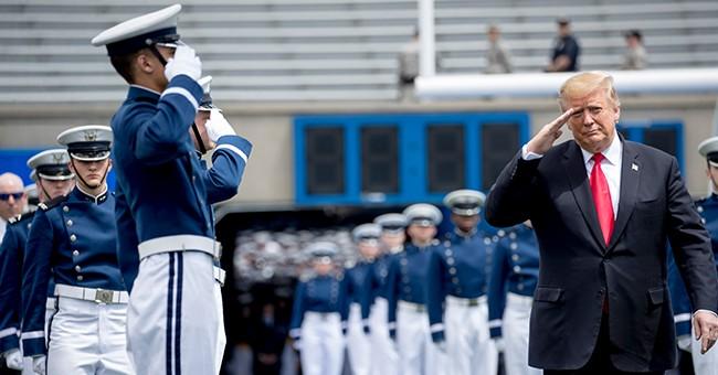 Trump Chooses Air Force Over Liberal Cronyism