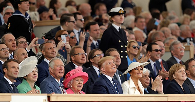 Trump Joins World Leaders In Portsmouth, England For D-Day Commemoration