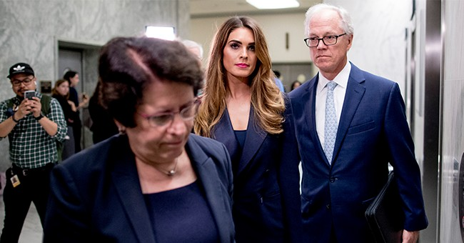 Democrats Angry Hope Hicks Didn't Answer Questions As They Waste Taxpayer Money On A Witch Hunt