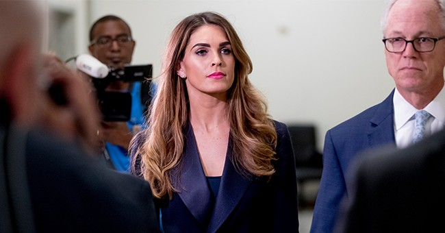 Disgusting: Slimy Democrats Were Taking Photos of Hope Hicks During Her Testimony
