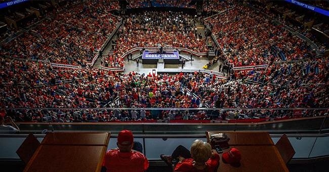 You Gotta Check Out These Videos And Photos Of The Crowd At Trump's Rally