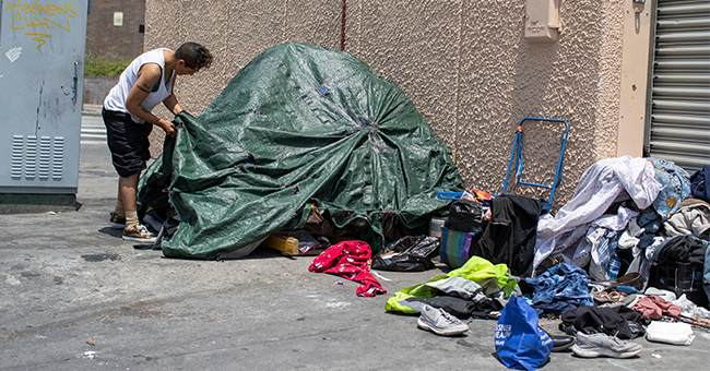 California Governor Tries Blaming Trump Admin for Homeless Crisis