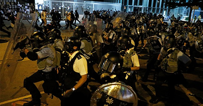 Hong Kong Moves From Protests To Civil Unrest As China Threatens Intervention