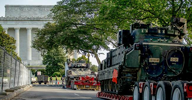 Why Liberals Need To Shut Their Faces About Tanks Appearing During Trump's Independence Day Event