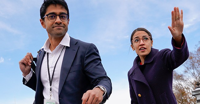 Um, AOC's Own Staff Is Undermining Her Green New Deal